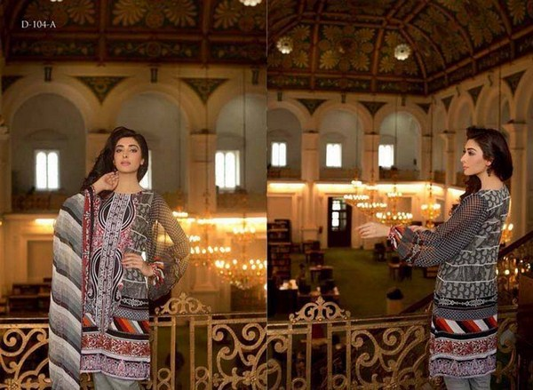 ZTM Embroidered Lawn Dresses 2014 For Women 3
