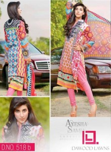 AYESHA SAMIA EMBROIDERED LAWN VOL. 2 10