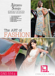 AYESHA SAMIA EMBROIDERED LAWN VOL. 2 2