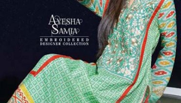AYESHA SAMIA EMBROIDERED LAWN VOL. 2