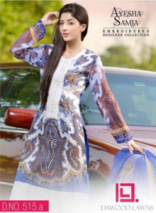 AYESHA SAMIA EMBROIDERED LAWN VOL. 2 11