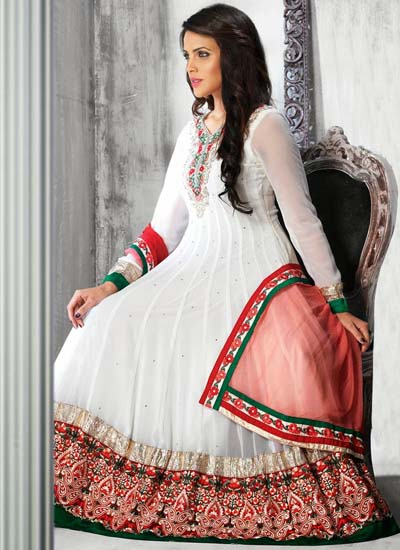 Anarkali Frocks Designs 2014 2