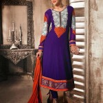 Angrakha and Anarkali Frocks Designs
