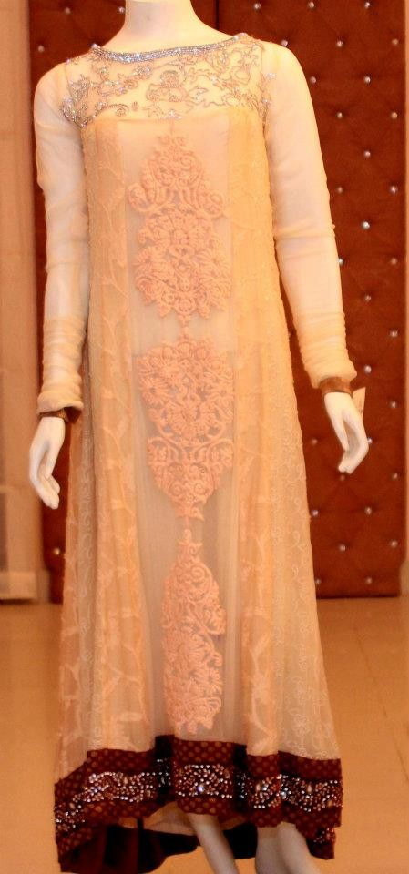 Ayesha Somaiya Gorgeous Eid Outfits Variety 2014 For Ladies (2)