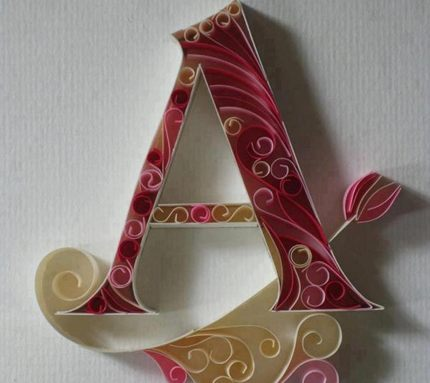 Beautiful Stylish Letter A Photos For Lackets (5)