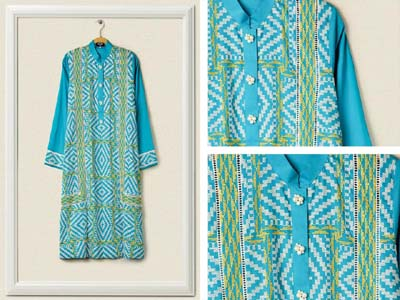 Cross Stitch Embroidered Lawn 2014 4