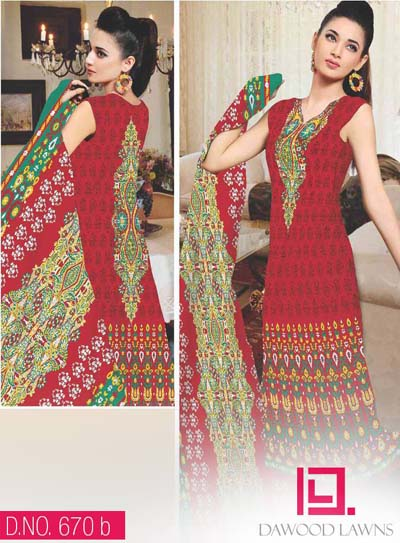 DAWOOD COLLECTION LAWN VOL. 2 21