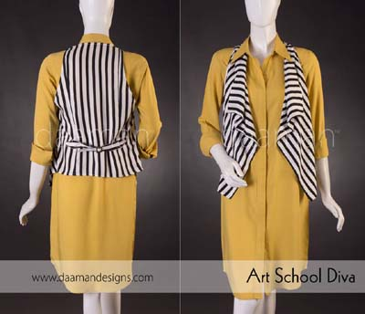 Daaman Formal Outfits Designs 2014 For Ladies (6)