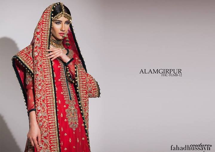 Fahad Hussayn Wedding Dresses 2014 for Women 5