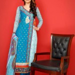 Ghani Textile Summer Dresses Collection Vol 6 2014 5