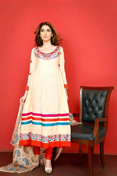 Ghani Textile Summer Dresses Collection Vol 6 2014 7