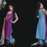 Ghani Textile summer dress collection 2014 10