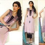Ghani Textile summer dress collection 2014 4