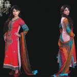 Ghani Textile summer dress collection 2014 5