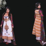 Ghani Textile summer dress collection 2014 7
