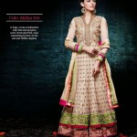 Gorgeous Semi Stiched Anarkali Collection 2014 3