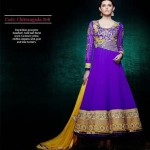 Gorgeous Semi Stiched Anarkali Collection 2014 5