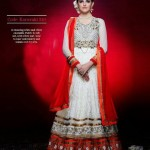 Gorgeous Semi Stiched Anarkali Collection 2014 7