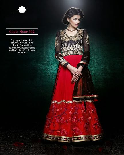 Gorgeous Semi Stiched Anarkali Collection 2014
