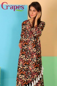 Grapes The Brand,Grapes ne wdress, Grapes formal wear dress, latest Grapes collection 2014, new style Grapes kurta , kurta dress fashion 2014, summer kurta designs 2014, Grapes new fashion collection 2014