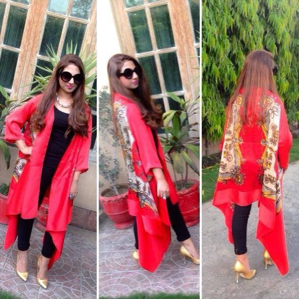 Heena Ayub Summer Dresses 2014 For Women 1