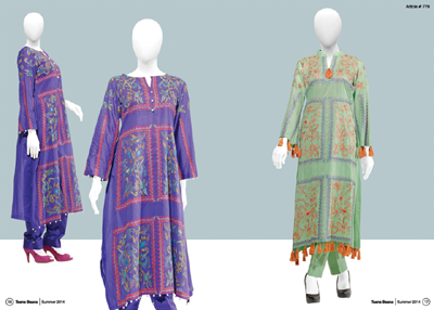 Innovative Taana Baana Summer Linen Vol 3 Outfits Gallery 2014 For Women of All Ages (2)