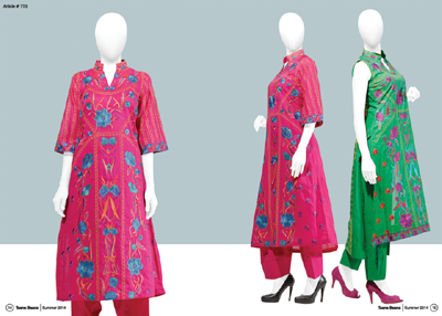 Innovative Taana Baana Summer Linen Vol 3 Outfits Gallery 2014 For Women of All Ages (3)