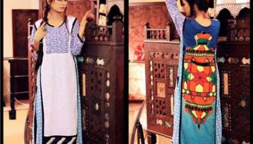 Jannat Nazir Dresses collection 2014 3