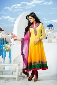 Karma - Designer Indian Fashion dress collection 2014 9