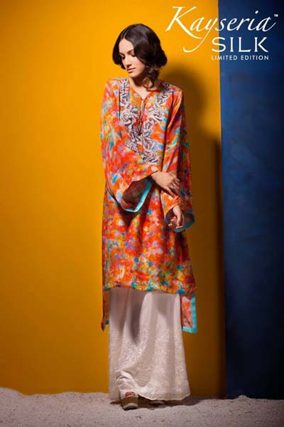 Kayseria Silk Collection 2014 For Women 13