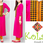 Kolaaj new summer dresses collection 2014 for women 1