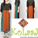 Kolaaj new summer dresses collection 2014 for women