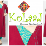Kolaaj new summer dresses collection 2014 for women 2