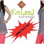 Kolaaj new summer dresses collection 2014 for women 4