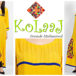 Kolaaj new summer dresses collection 2014 for women 5