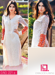 LIALI EMBROIDERED LAWN VOL. 2 BY DAWOOD 2014 14