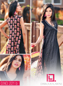 LIALI EMBROIDERED LAWN VOL. 2 BY DAWOOD 2014 15