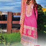 LIALI EMBROIDERED LAWN VOL. 2 BY DAWOOD 2014