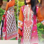 LIALI EMBROIDERED LAWN VOL. 2 BY DAWOOD 2014 2