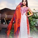 LIALI EMBROIDERED LAWN VOL. 2 BY DAWOOD 2014 7