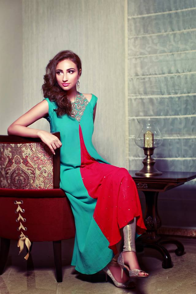 Latest Summer Dresses Styles Variety 2014 for Females By Yasmeen Jiwa (1)