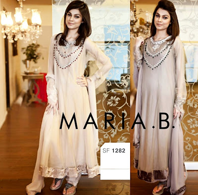 Maria B Eid Gorgeous Dresses Collection 2014 (3)