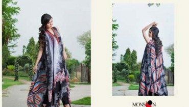 Monsoon Lawn Vol II summer dress collection 2014 13