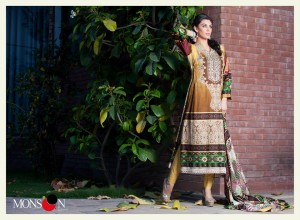 Monsoon Lawn Vol II summer dress collection 2014 19