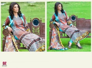 Monsoon Lawn Vol II summer dress collection 2014 21