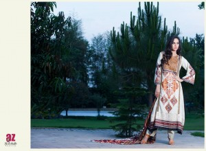 Monsoon Lawn Vol II summer dress collection 2014 22