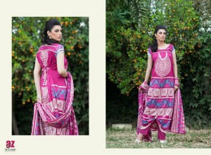 Monsoon Lawn Vol II summer dress collection 2014 23