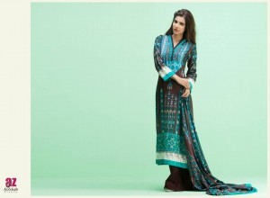 Monsoon Lawn Vol II summer dress collection 2014 25f