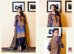 Monsoon Lawn Vol II summer dress collection 2014 27