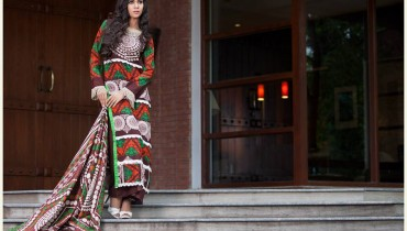 Monsoon Lawn Vol II summer dress collection 2014 31